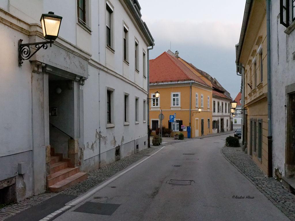 Innensradt von Ptuj am Abend