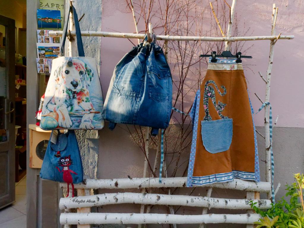 KLeine Geschäfte mit netten Angebot in der Altstadt von Ptuj